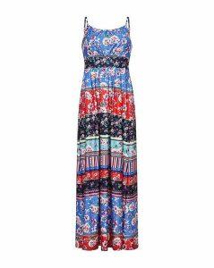 Yumi Curves Stripe Maxi Dress