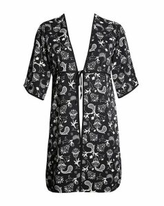 Lovedrobe GB Monochrome Paisley Kimono