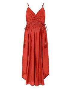 Monsoon Amber Hanky Hem Dress