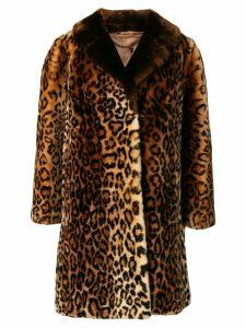 A.N.G.E.L.O. Vintage Cult 1960's leopard print fur coat - Brown