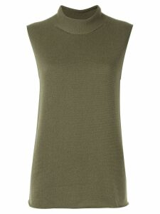 Hermès Pre-Owned cashmere top - Green