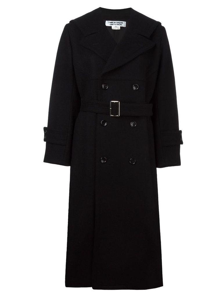 Comme Des Garçons Vintage double breasted coat - Black