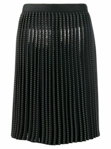 ALAÏA PRE-OWNED pleated circle skirt - Grey
