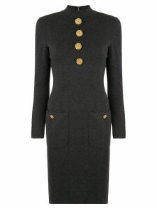 Chanel Pre-Owned Long Sleeve One Piece Skirt - Black
