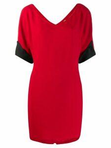 Gianfranco Ferré Pre-Owned mini T-shirt dress - Red