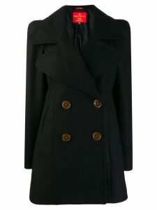 VIVIENNE WESTWOOD PRE-OWNED double-breasted midi coat - Black