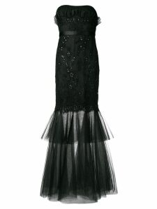 A.N.G.E.L.O. Vintage Cult 2000's beaded embroidery gown - Black