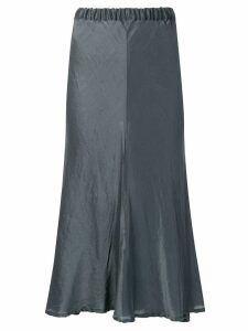Romeo Gigli Pre-Owned 1990's fluid midi skirt - Grey