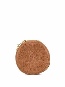 Chanel Pre-Owned CHANEL Jewelry Case Pouch - Brown