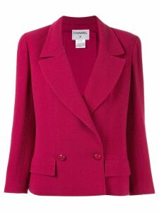 Chanel Pre-Owned 1998 boxy blazer - PINK