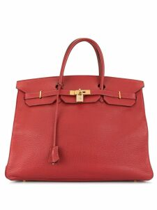 Hermès Pre-Owned HERMES Birkin 40 bag - Red