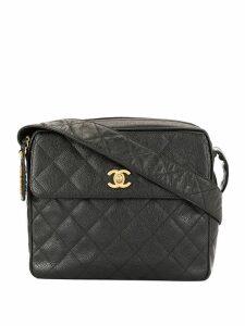 Chanel Pre-Owned CC logo shoulder bag - Black