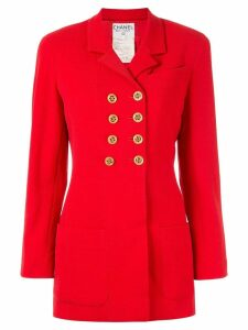 Chanel Pre-Owned CC logo jacket - Red