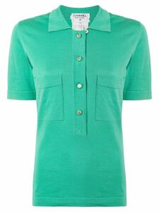 Chanel Pre-Owned Short Sleeve Tops - Green