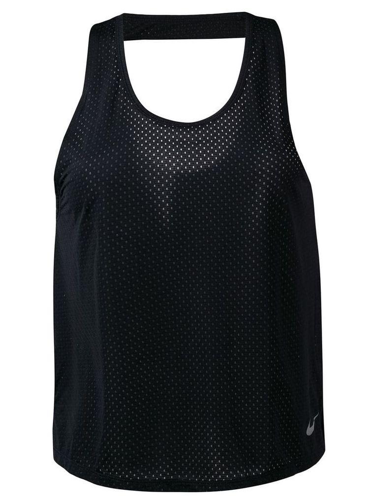 Nike Breathe Miler tank top - Black