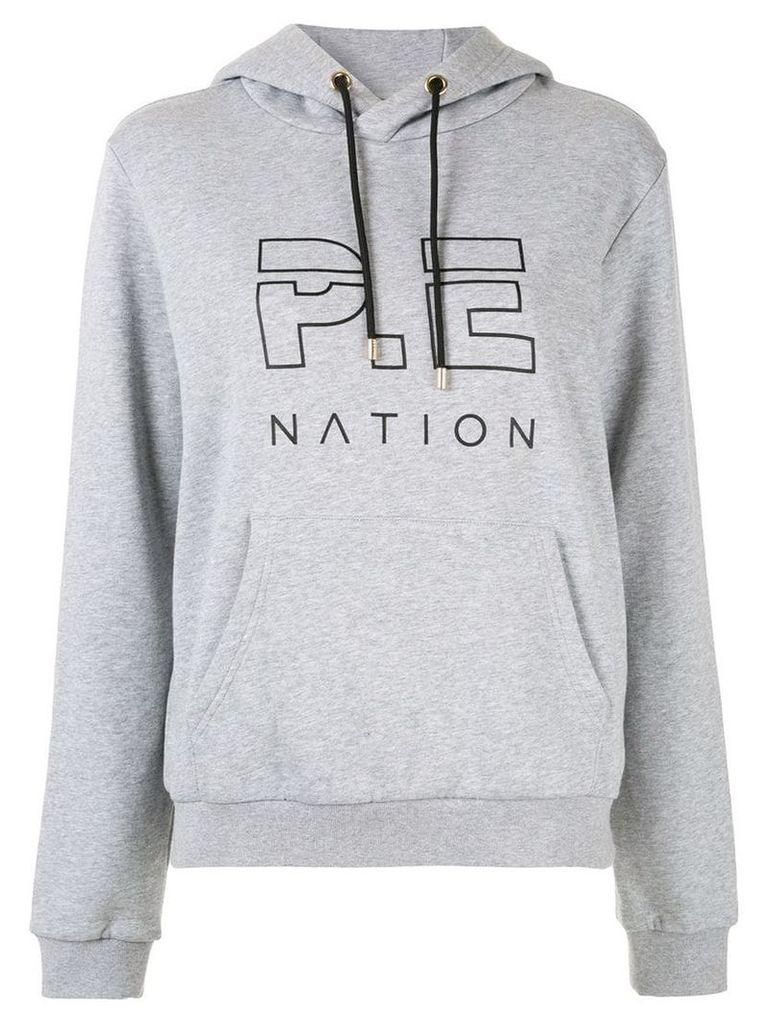P.E Nation Run Up hoodie - Grey