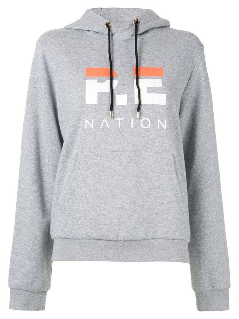 P.E Nation Downforce hoodie - Grey