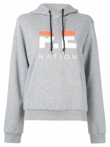 P.E Nation Downforce hoodie - Grey