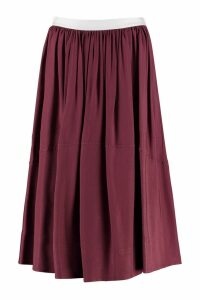 Golden Goose A-line Midi Skirt