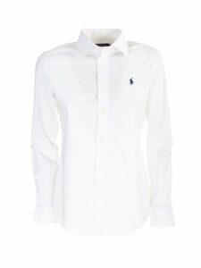 Ralph Lauren white poplin shirt