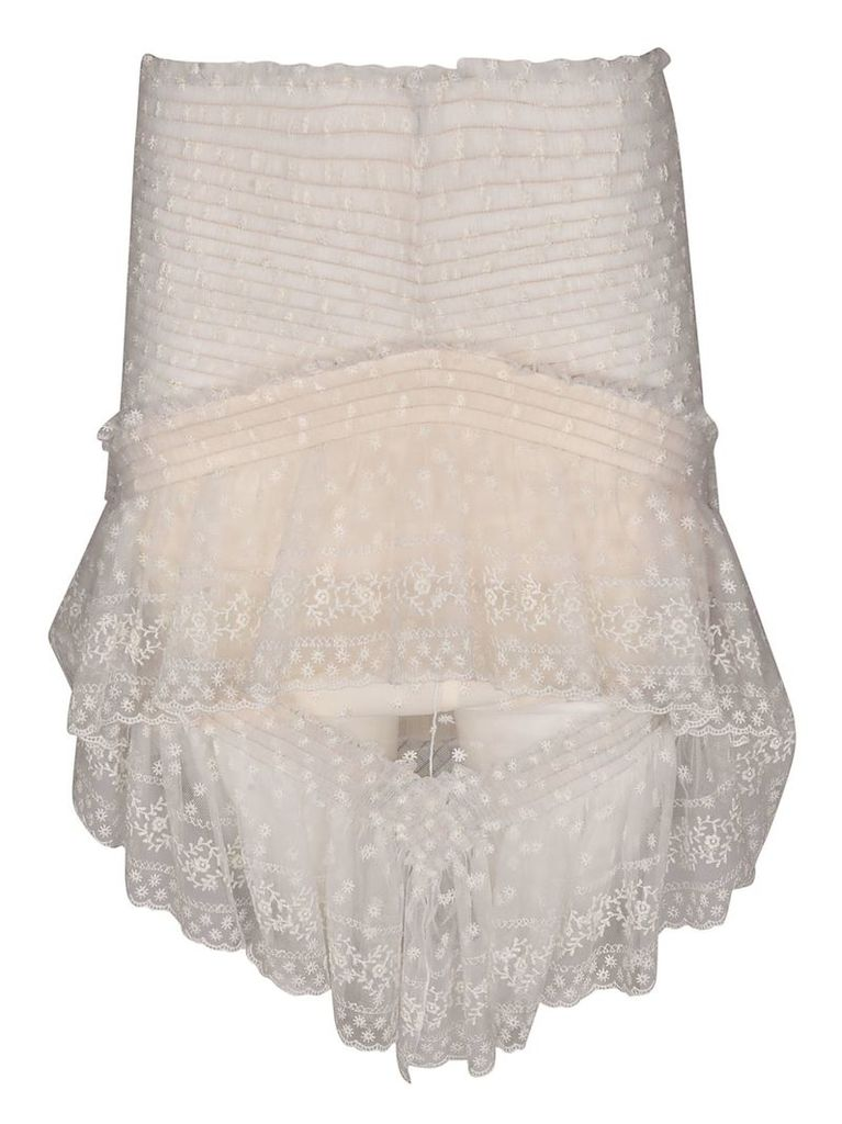 Philosophy Di Lorenzo Serafini Draped Lace Skirt