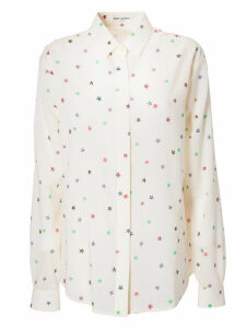 Saint Laurent Printed Button-down Shirt