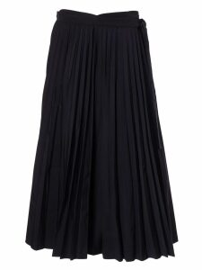 Valentino Pleated Mid-length Skirt