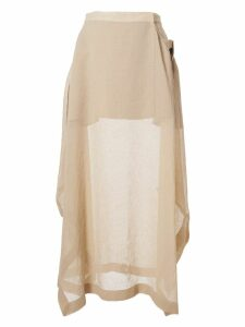 Jil Sander Draped Skirt
