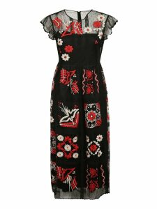 RED Valentino Embroidered Detail Dress