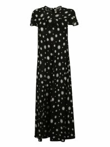 RED Valentino Star Print Long Dress