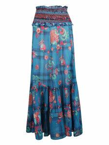 Anjuna Floral Print Skirt