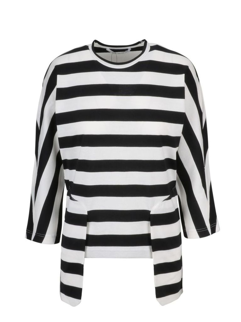 Comme Des Garçons Striped Sweatshirt