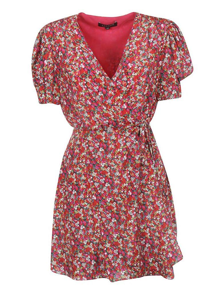 Saloni Floral Printed Dress
