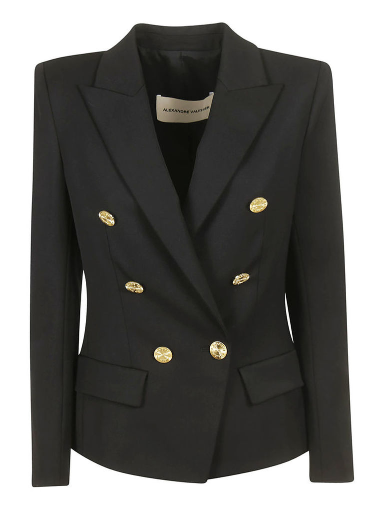 Alexandre Vauthier Double Breasted Buttoned Blazer