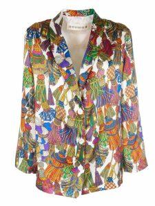 Shirt A Porter Printed Blazer