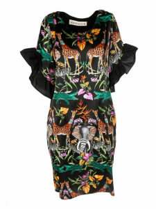Shirt A Porter Safari Print Dress