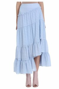 3.1 Phillip Lim Asymmetric Tiered Skirt