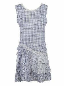 Ermanno Scervino Check Print Mini Dress