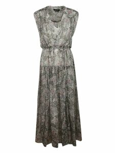 Isabel Marant Printed All-over Long Dress