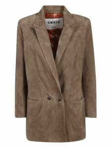 S.w.o.r.d 6.6.44 Double Breasted Two-button Coat