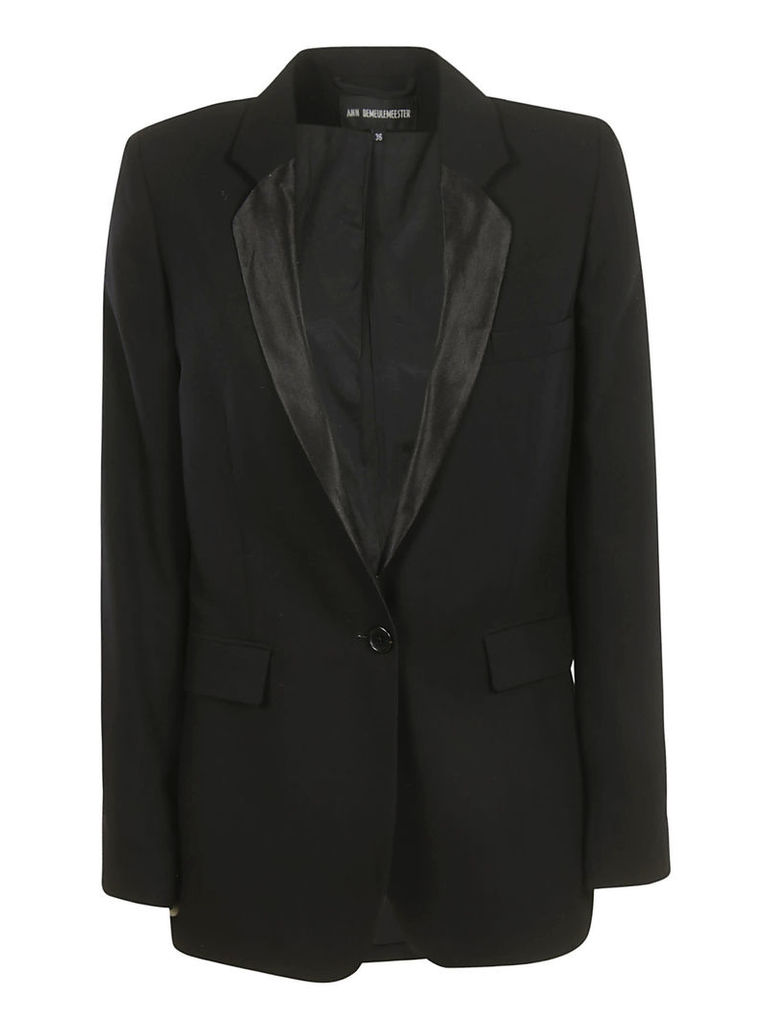 Ann Demeulemeester Single Buttoned Blazer