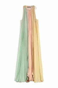 Alberta Ferretti Long Chiffon Dress