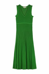 Michael Kors Ribbed Knit Dress