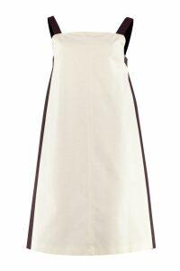 Weekend Max Mara Canoa Bicolor Cotton Dress