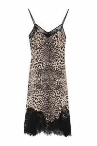 McQ Alexander McQueen Lace Details Slip-dress