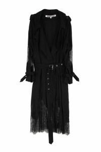 McQ Alexander McQueen Trench-coat With Lace Details