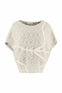 Fabiana Filippi Intarsia Knitted Top