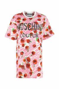 Moschino Printed Maxi T-shirt Dress