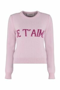 Alberta Ferretti je Taime Intarsia Sweater