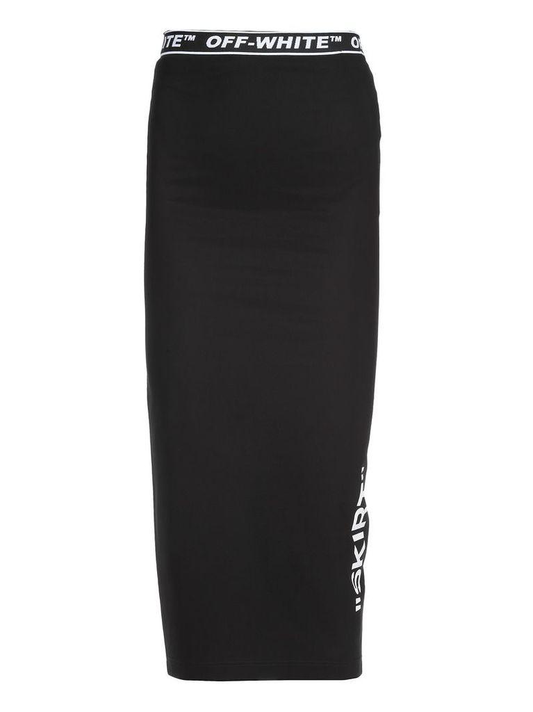 Off-White Stretch Skirt